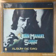 Discos de vinilo: JOAN MANUEL SERRAT - ALBUM DE ORO - 4 LP. Lote 207265188
