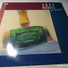 Discos de vinilo: LP- ANDY NARELL ?– THE HAMMER - 307 107-1 ( VG+ / VG+) GER 1987. Lote 207269788