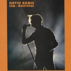 Discos de vinil: DAVID BOWIE – LOW / MONTREUX -LP-. Lote 207276908