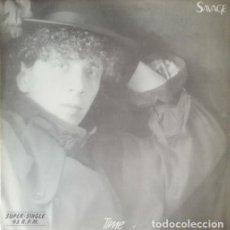 Discos de vinilo: SAVAGE - TIME - MAXI SINGLE 12 PULGADAS ITALO DISCO. Lote 207276965