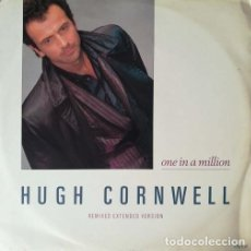 Discos de vinilo: HUGH CORNWELL - ONE IN A MILLION REMIXED EXTENDED VERS - MAXI SINGLE 12 PULGADAS SYNTH POP - AMBIENT. Lote 207277207