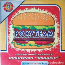 Discos de vinilo: POKYTEAM - IMPULSE - MAXI SINGLE 12 PULGADAS HARD HOUSE. Lote 207278380
