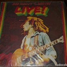Discos de vinilo: BOB MARLEY AND THE WAILERS - LIVE! - LP DE ISLAND 2ª EDICION 1978 SPAIN. Lote 207279730