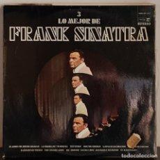 Discos de vinilo: LO MEJOR DE FRANK SINATRA VOL 3 - EL AMOR FUE BUENO CONMIGO. Lote 207283911