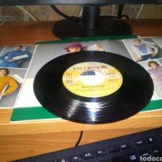 Discos de vinilo: ANTIGUO DISCO PEQUEÑO DE JULIO IGLESIAS. PROMOCIÓN JERSEY ESCORPIÓN. 1983. Lote 207289525