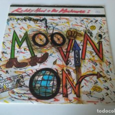 Discos de vinilo: ROBBY HOOD AND THE MUCH MORE – MOOVIN' ON. Lote 207298416