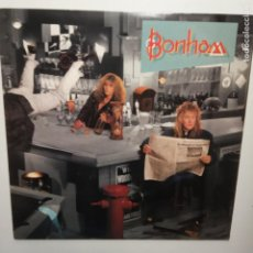 Discos de vinilo: BONHAM- THE DISREGARD OF TIMEKEEPING (JASON BONHAM)- USA LP 1989 - VINILO COMO NUEVO.. Lote 207300405