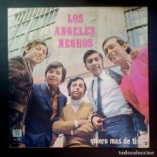 Discos de vinilo: LOS ANGELES NEGROS - QUIERO MAS DE TI - LP USA 1970 - PARNASO. Lote 207300570