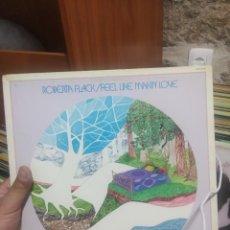 Discos de vinilo: LP ROBERTA FLACK FEEL LIKE MAKING LOLO EG+ VG++. Lote 207300918