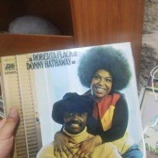 Discos de vinilo: LP ROBERTA FLACK DONNY HATHWAY VGVG+/+ VG++. Lote 207301020