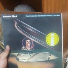 Discos de vinilo: LP ROBERTA FLACK SUAVEMENTE ME MATA CON SU CANCION /+ VG++. Lote 207301102