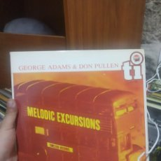 Discos de vinilo: LP GEORGE ADAMS & DON PULLEN MELODIC EXCURSIONS VG++. Lote 207301298