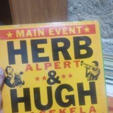 Discos de vinilo: LP HERB ALPERT & HUGH MASEKELA LIVE VGVG+/VG++. Lote 207301377