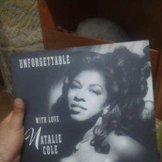 Discos de vinilo: LP DOBLE NATALIE COLE UNFORGETTABLE WITH LOVE VG++. Lote 207303570