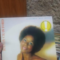 Discos de vinilo: LP RANDY CRAWFORD EVERYTHING MUSR CHANGE VG++. Lote 207303647