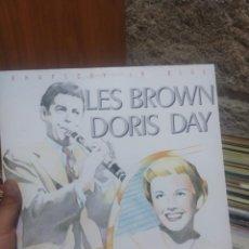 Discos de vinilo: LP LES BROWN DORIS DAY RHAPSODY IN BLUE VG++. Lote 207303890
