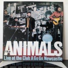 Discos de vinilo: THE ANIMALS. LIVE AT HE CLUB A GOGO NEWCASTLE. ZAFIRO. 1989. SPAIN.. Lote 207304041