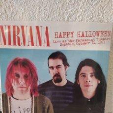 Discos de vinilo: NIRVANA-HAPPY HALLOWEEN (LIVE AT THE PARAMOUNT THEATRE, SEATTLE,OCTOBER 31,1991) NUEVO PRECINTADO. Lote 207304296