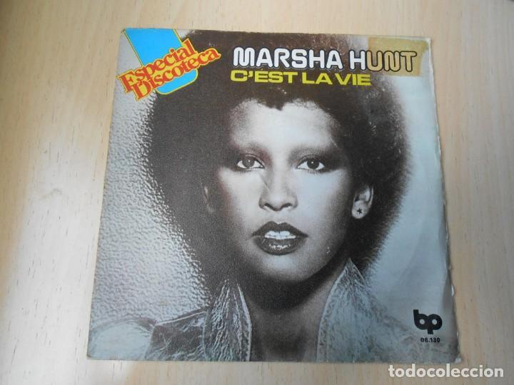 MARSHA HUNT, SG, C´EST LA VIE + 1, AÑO 1976 (Música - Discos - Singles Vinilo - Pop - Rock - Extranjero de los 70)