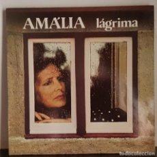 Disques de vinyle: AMÁLIA - LÁGRIMA .- FABRICADO EN PORTUGAL. Lote 207319493