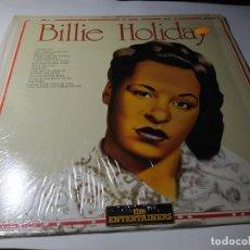 Discos de vinilo: LP- BILLIE HOLIDAY ?– BILLIE HOLIDAY - ENT LP 13.002 ( VG+ / VG+ ) ITALY 86 - ( CASI NM). Lote 207329887