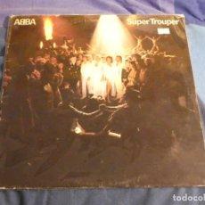 Discos de vinilo: LP ABBA SUPER TROUPER ACUSA CIERTO USO DECENTE 1979. Lote 207333421