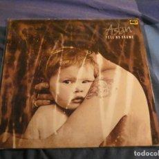 Discos de vinilo: LP ASLAN FEEL NO SHAME 1988 BUEN ESTADO. Lote 207333870