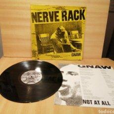 Discos de vinilo: NERVE RACK. GNAW. 1990 UK.. Lote 207333877
