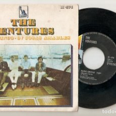 """Discos de vinilo: THE VENTURES 7"""" SPAIN 45 SINGLE VINILO 1968 HAWAII FIVE-0 HAWAI 5-0 CINCO-0 POP ROCK SURF RARO MIRA. Lote 207334085"""