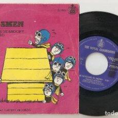 "Discos de vinilo: THE ROYAL GUARDSMEN 7"" SPAIN 45 SINGLE VINILO 1967 LAS NAVIDADES DE SNOOPY CHRISTMAS POP ROCK RARO!. Lote 207334923"