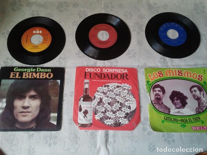ANTIGUO LOTE DE DISCOS DE GEORGIE DANN, LOS MISMOS Y DISCO SORPRESA DE FUNDADOR (Música - Discos - Singles Vinilo - Grupos Españoles 50 y 60)