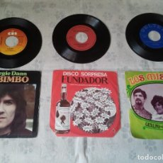 Discos de vinilo: ANTIGUO LOTE DE DISCOS DE GEORGIE DANN, LOS MISMOS Y DISCO SORPRESA DE FUNDADOR. Lote 207338535