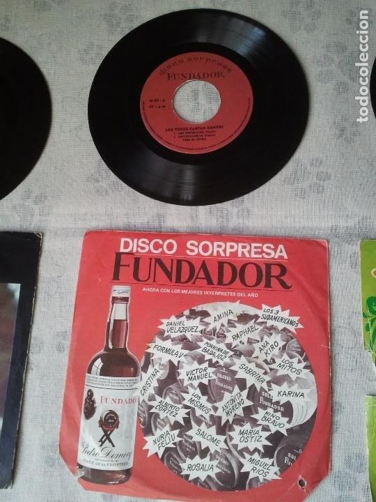 Discos de vinilo: Antiguo lote de discos de Georgie Dann, Los Mismos y Disco sorpresa de Fundador - Foto 3 - 207338535