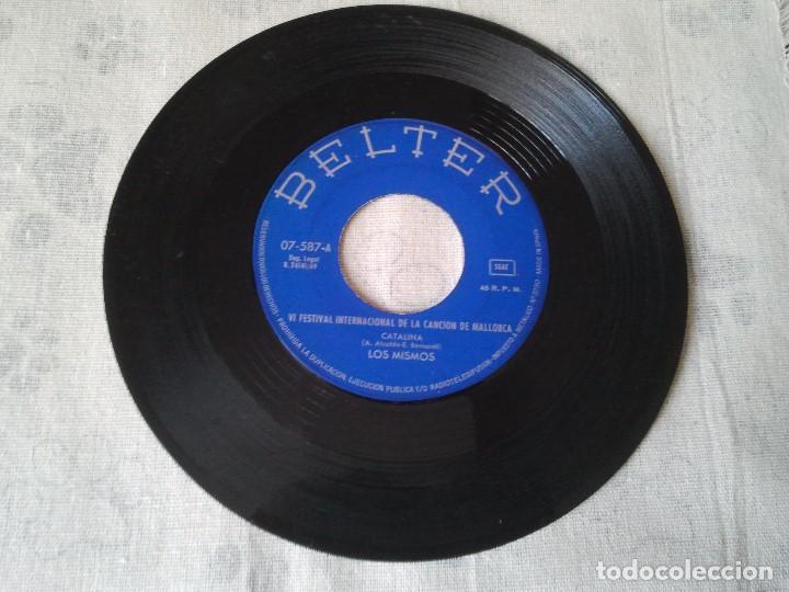 Discos de vinilo: Antiguo lote de discos de Georgie Dann, Los Mismos y Disco sorpresa de Fundador - Foto 9 - 207338535