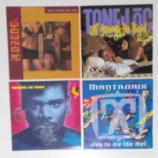 "Discos de vinilo: [[ LOTE 7"" 45RPM ]] STONE-LOC / MANTRONIX / YOUNG MC / SNAP. Lote 207350880"