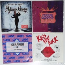 "Discos de vinilo: [[ LOTE 7"" 45RPM ]] MC HAMMER / REDHEAD KINGPIN AND THE FBI / GERARDO / DIGITAL UNDERGROUND. Lote 207351275"