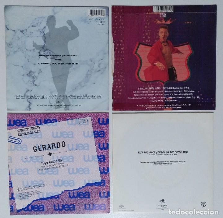 "Discos de vinilo: [[ LOTE 7"" 45rpm ]] MC Hammer / Redhead Kingpin And The FBI / Gerardo / Digital Underground - Foto 2 - 207351275"