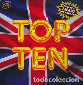 VARIOUS - TOP TEN (CONTIENE MAXI DE REGALO) (Música - Discos - LP Vinilo - Techno, Trance y House)