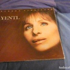 Discos de vinilo: LP BARBRA STREISAND BSO DE LA PELI YENTL BUEN ESTADO. Lote 207357932