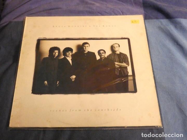 LP BRUCE HORNSBY AND THE RANGE SCENES FROM THE SOUTHSIDE 1988 BUEN ESTADO (Música - Discos - LP Vinilo - Rock & Roll)