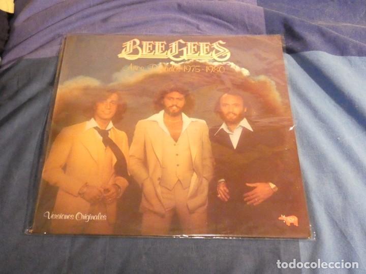 LP BEE GEES 1975-80 BASTANTE BUEN ESTADO (Música - Discos - LP Vinilo - Rock & Roll)