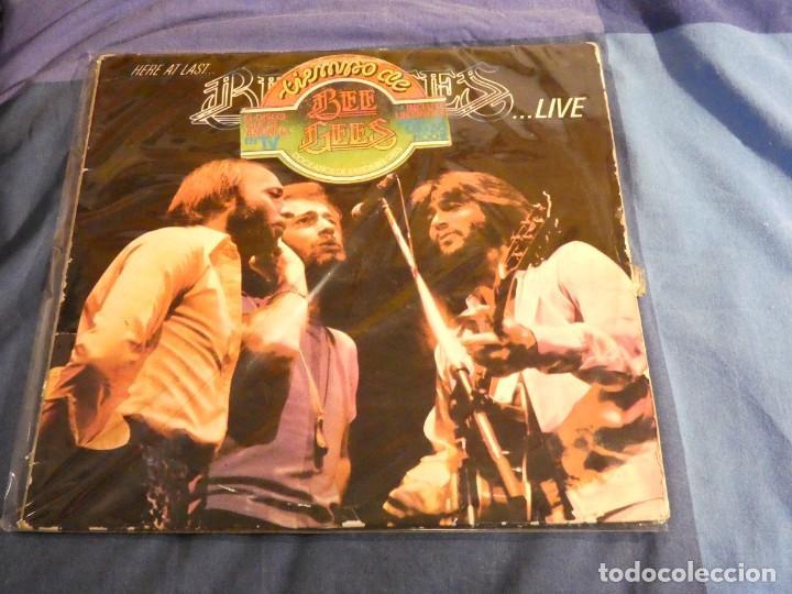 DESDE UN EURO A TU RIESGO DOBLE LP BEE GEES LIVE DOBLE LP DIRECTO 1977 CON HERIDAS DE GUERRA (Música - Discos - LP Vinilo - Rock & Roll)