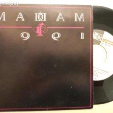 Discos de vinilo: LA MADAM -TU, TU,TU -SINGLE 1991 -BUEN ESTADO. Lote 207370050