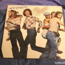 Discos de vinilo: LP CHICAGO HOT STREETS ESPAÑA 1978 MUY BUEN ESTADO. Lote 207370635