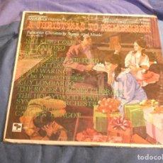 Discos de vinilo: LP ANTIQUISIMO USA CIRCA 1960 A CHRISTAMAS TO REMEMBER GUY LOMBARDO ETC.... Lote 207371230