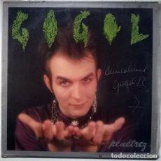 Discos de vinilo: GOGOL PREMIER. PÉNÉTREZ, CONTORSION-EM DIS, FRANCE 1985 MINI LP (AUTÓGRAFO Y DEDICADO). Lote 207375396