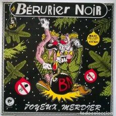Discos de vinilo: BÉRURIER NOIR. JOYEUX MERDIER. BONDAGE, FRANCE 1985 (MAXI LP). Lote 207375760