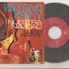 """Discos de vinilo: HERMINIO KENNY 7"""" SPAIN 45 SPANISH PS 1973 SINGLE VINILO NUESTRA NAVIDAD + SUEÑO INFANTIL LATIN POP. Lote 207379175"""