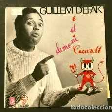 Discos de vinilo: CUENTO INFANTIL EN CATALÀ (SINGLE 1966) GUILLEM D'EFAK - EL DIMONI CUCARELL - CONCENTRIC 6041-HC. Lote 207379258