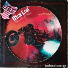 Discos de vinilo: MEAT LOAF - BAT OUT OF HELL - LP PICTURE DISC - EDICION USA 1977 #. Lote 207381762